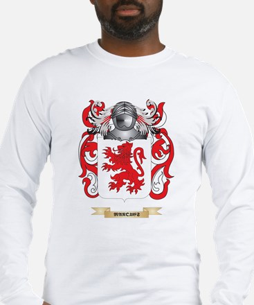Marques Coat of Arms - Family Crest Long Sleeve T-