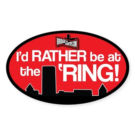 BTG: I'd rather be at the 'Ring!
