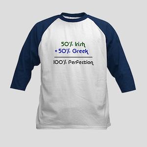 Irish & Greek Kids Baseball Jersey