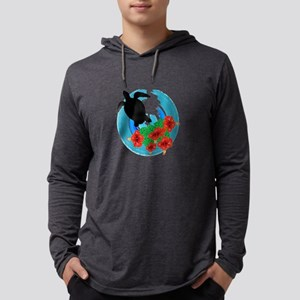 TURTLE LOVE Mens Hooded Shirt