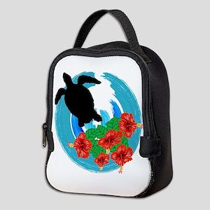 TURTLE LOVE Neoprene Lunch Bag