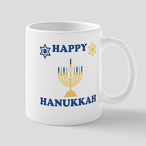 Happy Hanukkah Small Mug