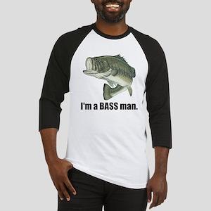 bass man Baseball Jersey