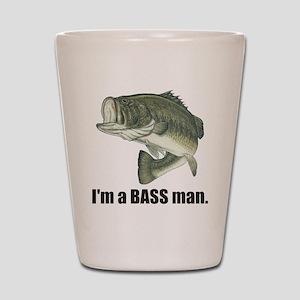 bass man Shot Glass