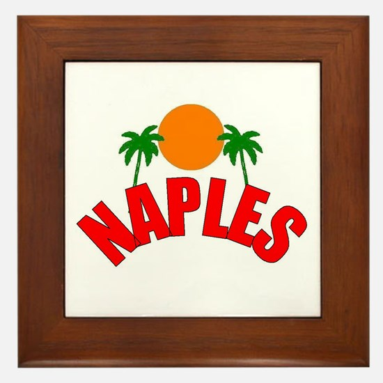Naples, Florida Framed Tile
