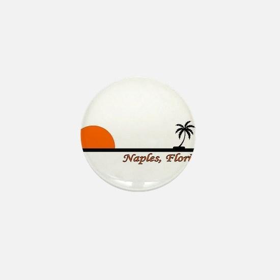 Naples, Florida Mini Button