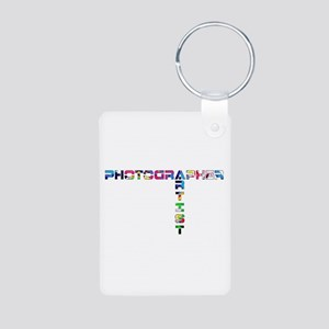 PHOTOGRAPHER-ARTIST-COLOR Keychains