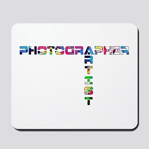 PHOTOGRAPHER-ARTIST-COLOR Mousepad