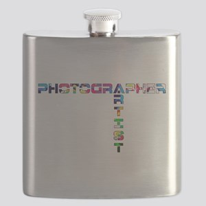PHOTOGRAPHER-ARTIST-COLOR Flask