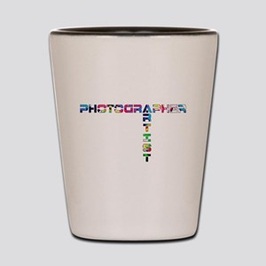 PHOTOGRAPHER-ARTIST-COLOR Shot Glass