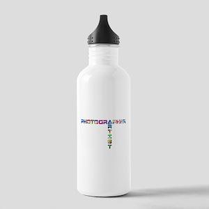 PHOTOGRAPHER-ARTIST-COLOR Water Bottle