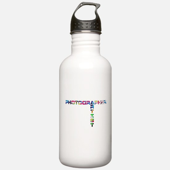 PHOTOGRAPHER-ARTIST-COLOR Water Bottle