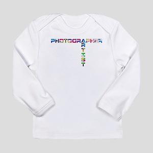 PHOTOGRAPHER-ARTIST-COLOR Long Sleeve T-Shirt