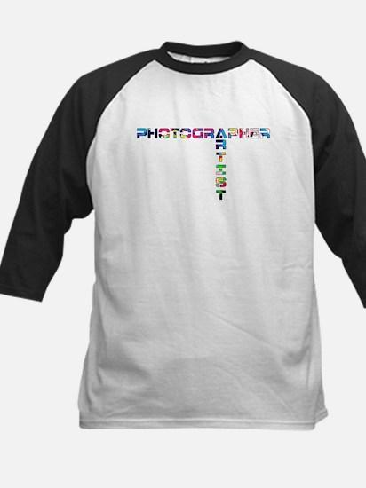 PHOTOGRAPHER-ARTIST-COLOR Baseball Jersey