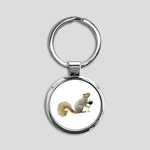Squirrel with Wine Keychains