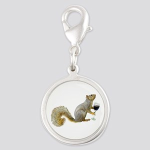 Squirrel with Wine Charms