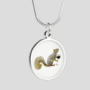 Squirrel with Wine Necklaces
