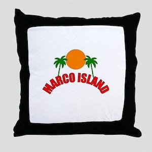 Marco Island, Florida Throw Pillow