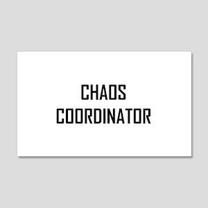 Chaos Coordinator Wall Decal
