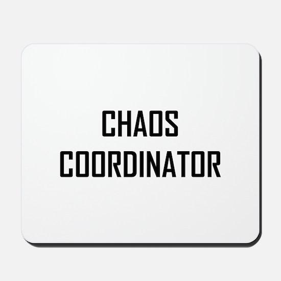 Chaos Coordinator Mousepad
