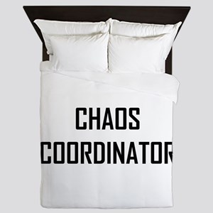Chaos Coordinator Queen Duvet