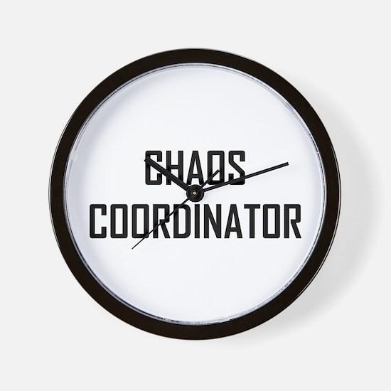 Chaos Coordinator Wall Clock