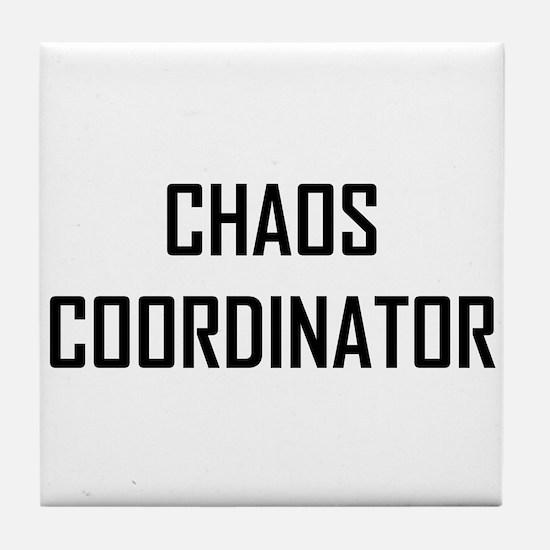 Chaos Coordinator Tile Coaster