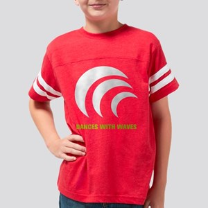 Dances with waves logo 2 Youth Football Shirt