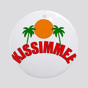 Kissimmee, Florida Ornament (Round)