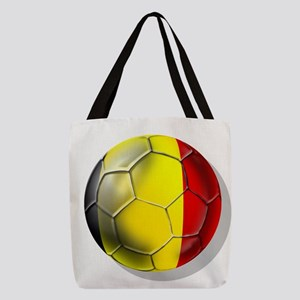 Belgium Football Polyester Tote Bag