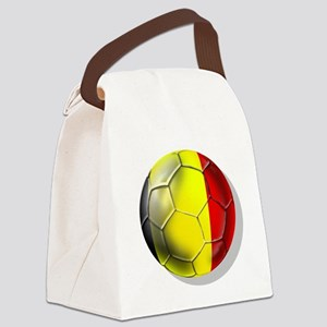 Belgium Football Canvas Lunch Bag