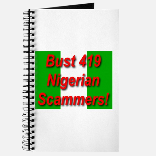 Bust 419 Nigerian Scammers! Journal