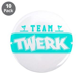 Neon Turquoise Team Twerk 3.5