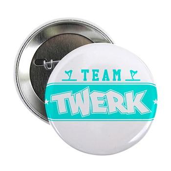 Neon Turquoise Team Twerk 2.25