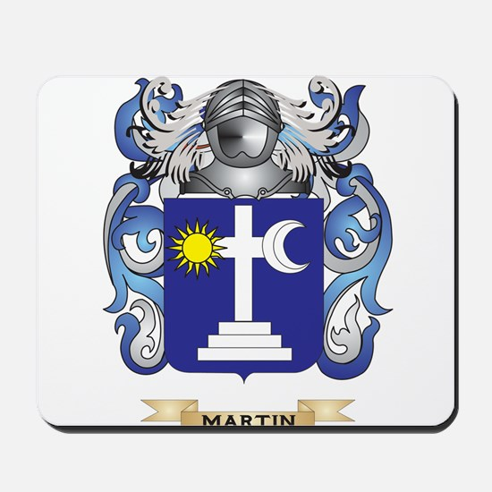 Martin Coat of Arms - Family Crest Mousepad