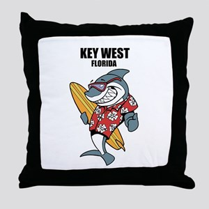 Key West, Florida Throw Pillow