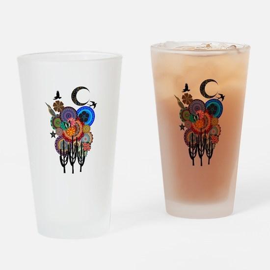DESERT SURREAL Drinking Glass