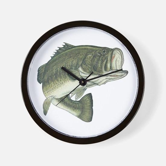 big bass Wall Clock