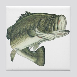 big bass Tile Coaster