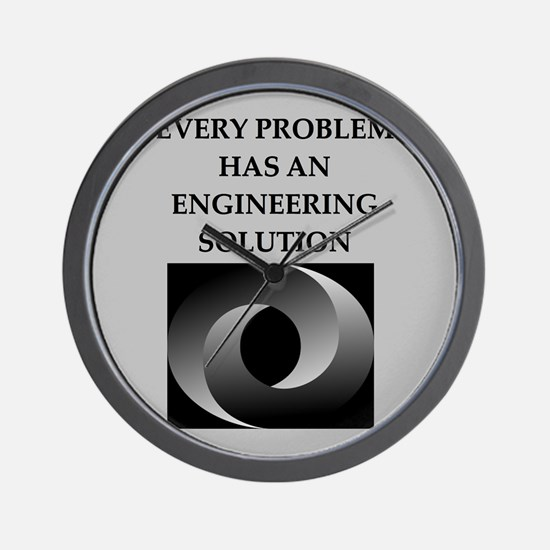 engineering Wall Clock