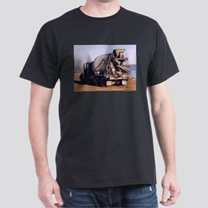 Cement Mixer Truck #1 photo d Dark T-Shirt