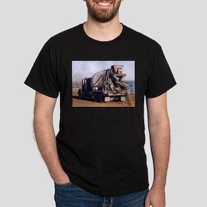 Cement Mixer Truck #1 photo d Dark T-Shirt