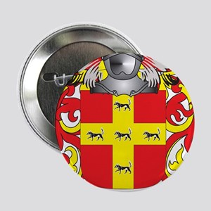 """Martinez Coat of Arms - Family Crest 2.25"""" Button"""