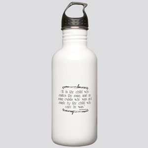 The Child Makes the Man Water Bottle