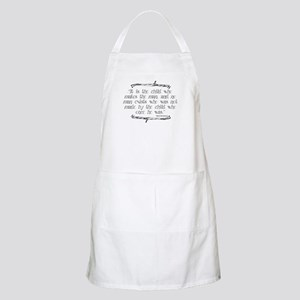 The Child Makes the Man Apron