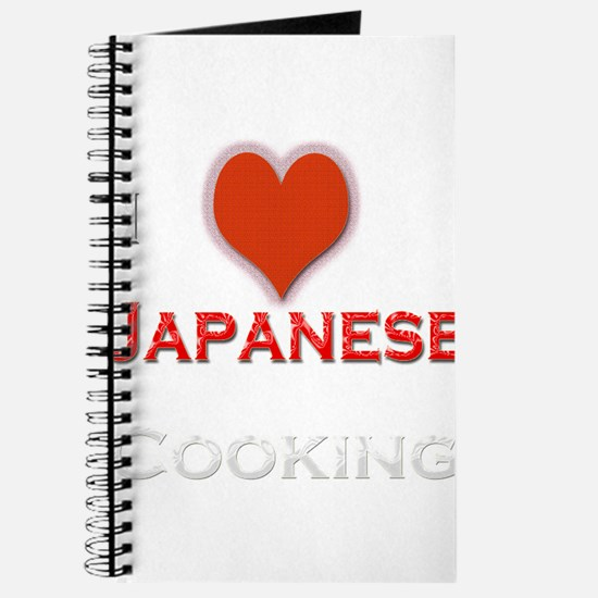 I Love Japanese Cooking Journal