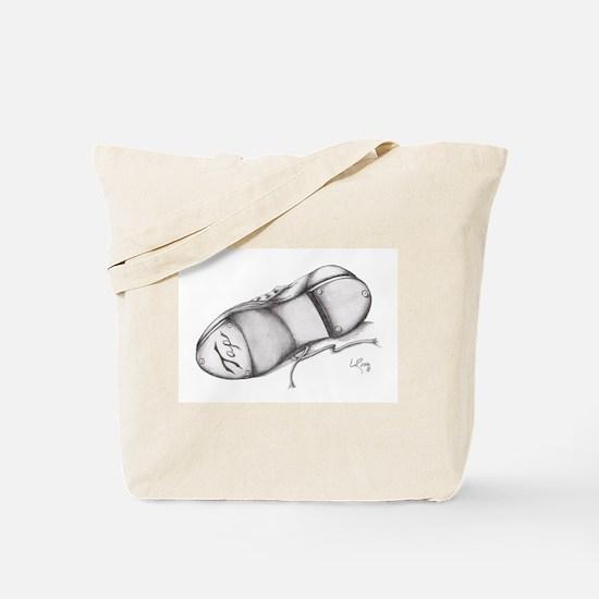 Pencil - Jazz Tap Shoe Tote Bag