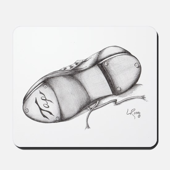 Pencil - Jazz Tap Shoe Mousepad