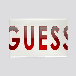 GUESS Rectangle Magnet