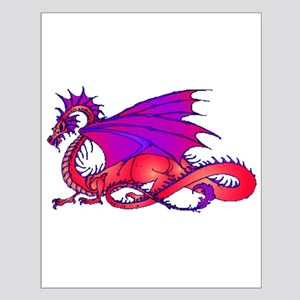 Rainbow Dragon Small Poster